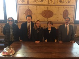 Il presidente dell'Università del Bahrain in Toscana con CEG